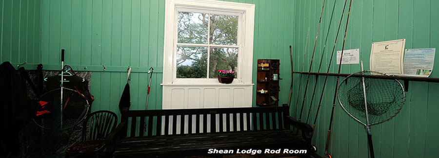 Shean Lodge Fishery Rod Room